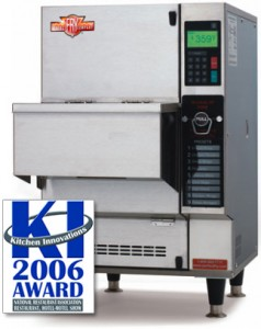 Ventless Countertop Automatic Deep Fryer