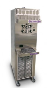 Ultra High Capacity Frozen Beverage Dispenser, Compact Design Model U218
